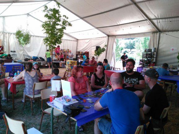 Presentamos Pentaurus en el Festival de Juegos de Mesa de la Sierra de Aracena
