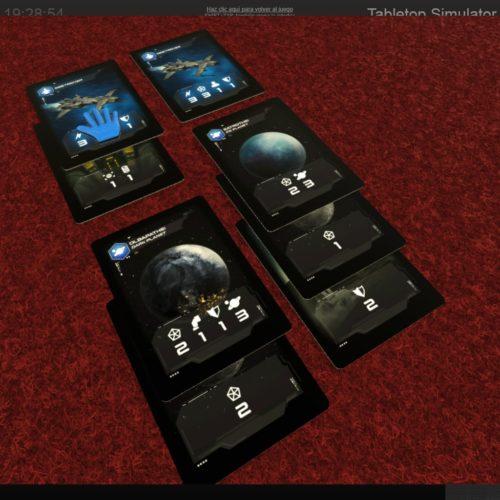 Pentaurus: Duel (detalle de cartas)