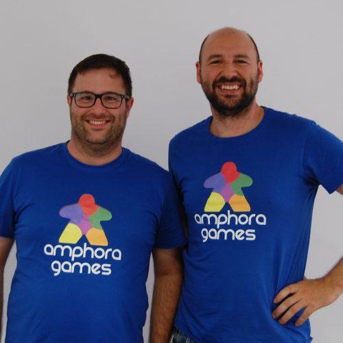 Rafa y Javier de Amphora Games