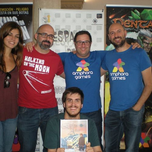 Amphora Games con César Gómez y los chicos de