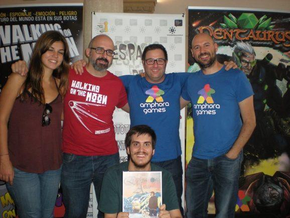 Amphora Games con los autores noveles españoles