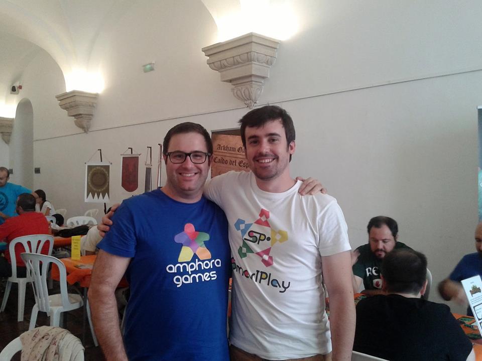 Rafa Oliva y Enrique Gil