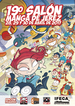 ¡A por el Salón Manga de Jerez!