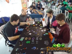 Pentaurus juego mesa