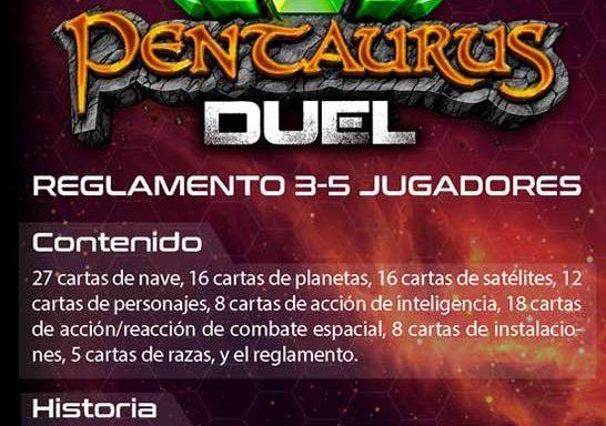 Juega a Pentaurus Duel en modo épico: reglas para 3-5 jugadores