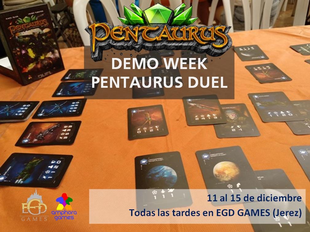 demo week pentaurus duel egd