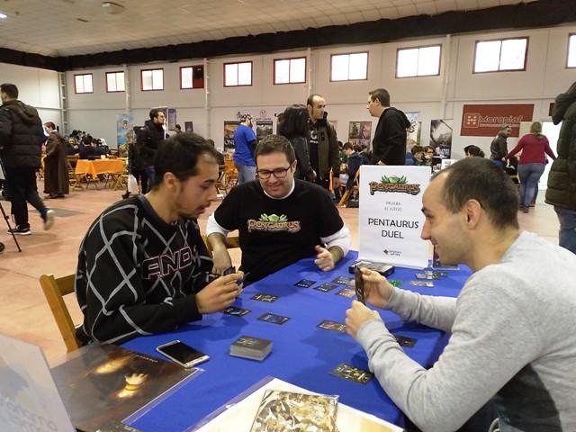 pentaurus duel ficzone amphora games juego mesa