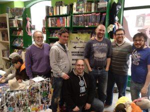 Creadores juegos mesa prototipos Ludo Cádiz Amphora Games