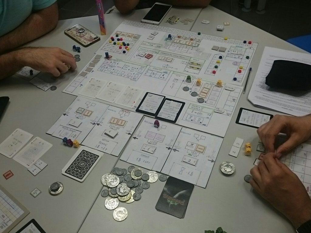 Prototipo eurogame Burebrot Amphora Games