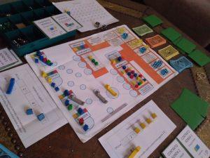 Prototipo del eurogame Isla Verde