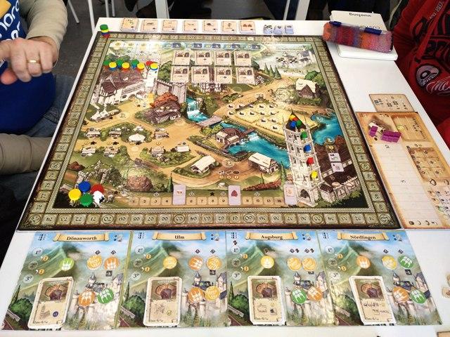 Pandemain juego mesa Amphora Games